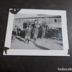 Militaria: TORREJON DE VELASCO MADRID GUERRA CIVIL SOLDADOS REGULARES Y MOROS FOTOGRAFIA SOLDADO LEGION CONDOR. Lote 275027538