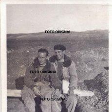 Militaria: UTRILLAS TERUEL CUENCAS MINERAS PILOTOS ITALIANOS TRINCHERA AERODROMO GUERRA CIVIL. Lote 275324668