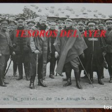 Militaria: FOTOGRAFIA DEL GENERAL SILVESTRE, GRUPO EN LA POSICION DE DAR ASUGAH EL 28 DE NOVIEMBRE DE 1920, GUE. Lote 275504978