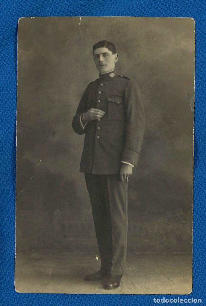 CARABINERO. FOTÓGRAFO BENITO RUPÉREZ. PAMPLONA, NAVARRA. 1919 (Militar - Fotografía Militar - Otros)