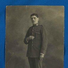 Militaria: CARABINERO. FOTÓGRAFO BENITO RUPÉREZ. PAMPLONA, NAVARRA. 1919. Lote 276184223
