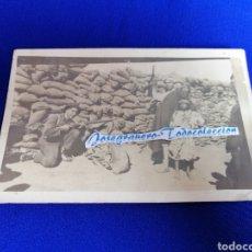 Militaria: SOLDADO TRINCHERA MELILLA AÑO 1924 FOTOGRAFIA POSTAL. Lote 276621058