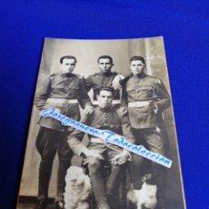 Militaria: SOLDADOS (CARTAGENA) J. CASAU FOTÓGRAFO TARJETA POSTAL (APARTIR DEL AÑO 1924 APROXIMADO). Lote 276628938