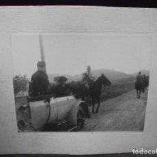 Militaria: 5 FOTOGRAFIAS MILITAR GENERAL EMILIO FERNANDEZ PEREZ LA CHATA ALFONSO XIII - FOTO CACHO - VALLADOLID. Lote 276734318