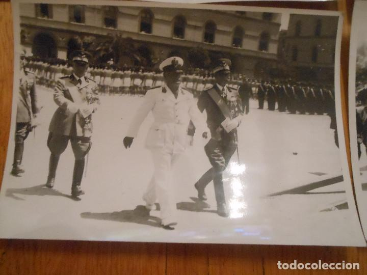 Militaria: 6 FOTOGRAFIAS CON BENITO MUSSOLINI PASANDO REVISTA MILITAR MILAN ITALIA MOTOS - ORIGINAL - Foto 6 - 276755578