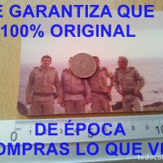 Militaria: GRUPO DE OFICIALES FOTOGRAFIA PROCEDE DE ALCALA DE LA VEGA CUENCA FOTOGRAFIA E27. Lote 277037618