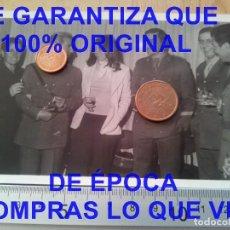 Militaria: GRUPO DE OFICIALES FOTOGRAFIA PROCEDE DE ALCALA DE LA VEGA CUENCA FOTOGRAFIA E27. Lote 277037773