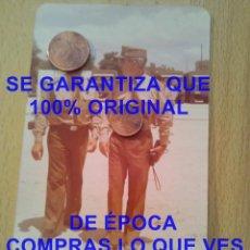 Militaria: GRUPO DE OFICIALES FOTOGRAFIA PROCEDE DE ALCALA DE LA VEGA CUENCA FOTOGRAFIA E27. Lote 277037823