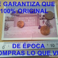 Militaria: REPLICA EL ALAMO FORT BLISS USA FOTOGRAFIA PROCEDE DE ALCALA DE LA VEGA CUENCA FOTOGRAFIA E27. Lote 277038113