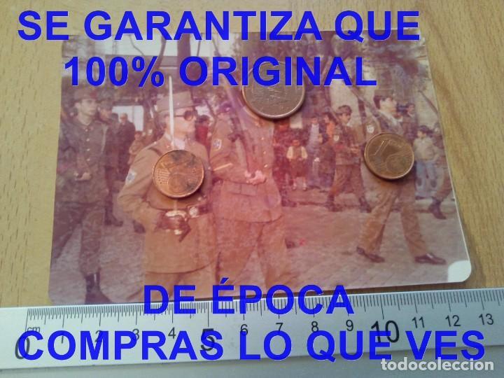 DESFILE SUBOFICIALES FOTOGRAFIA PROCEDE DE ALCALA DE LA VEGA CUENCA FOTOGRAFIA E27 (Militar - Fotografía Militar - Otros)