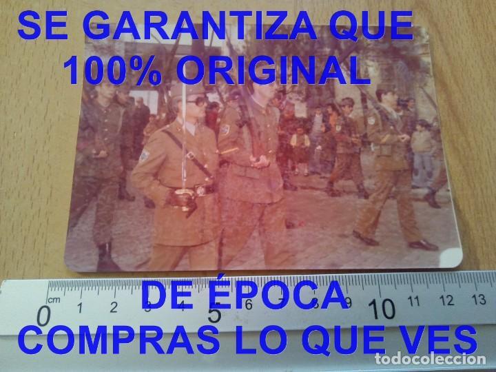 Militaria: DESFILE SUBOFICIALES FOTOGRAFIA PROCEDE DE ALCALA DE LA VEGA CUENCA FOTOGRAFIA E27 - Foto 3 - 277038558