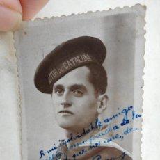 Militaria: ANTIGUA FOTOGRAFIA.MILITAR DE MARINA.SECTOR DE CATALUÑA 1941. Lote 277460168