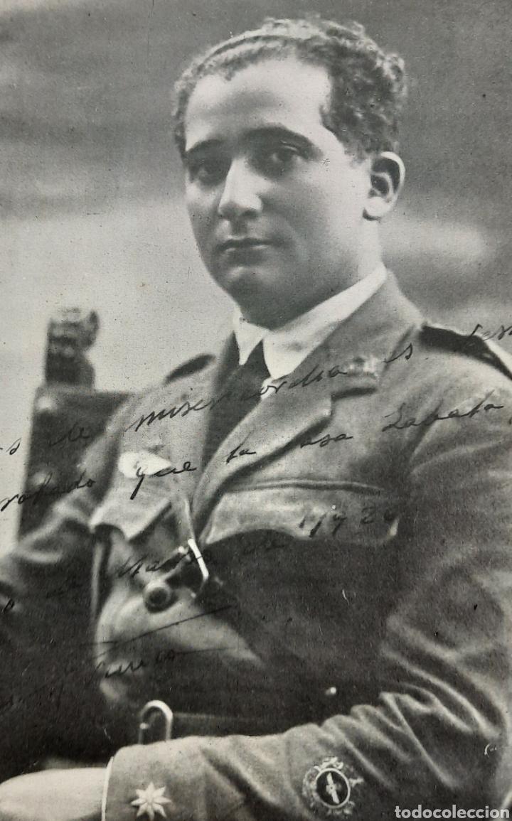 Militaria: Ramón Franco plus ultra foto autógrafa - Foto 5 - 277502238