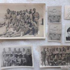 Militaria: LOTE FOTOS EJERCICIOS PREPARATORIOS DIVISIÓN AZUL. Lote 277600988