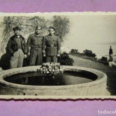 Militaria: ANTIGUA FOTOGRAFÍA DE MILITARES EN GUERRA CIVIL ESPAÑOLA - AÑO 1936-39. Lote 278397438