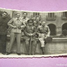 Militaria: ANTIGUA FOTOGRAFÍA DE MILITARES EN GUERRA CIVIL ESPAÑOLA - AÑO 1936-39. Lote 278401968