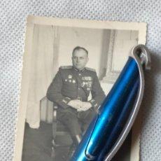 Militaria: FOTO DE UN MILITAR CON CONDECORACIÓN IMPORTANTES. Lote 278571923