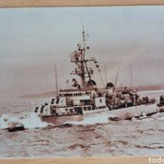 Militaria: FOTOGRAFIA ORIGINAL DESTRUCTOR ARMADA ESPAÑOLA. AÑOS 50. Lote 278837508