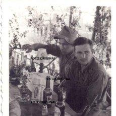 Militaria: RANCHO OFICIALES LEGION CONDOR CHARNEGO CERVEZAS BECKS AERODROMO GUERRA CIVIL. Lote 279425753