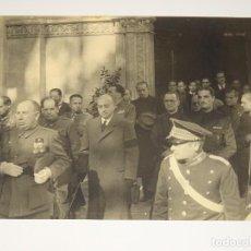 Militaria: POSGUERRA FOTOGRAFÍA CAPITAN GENERAL GENERAL ORGAZ, 23X17,5 CM.. Lote 279510563