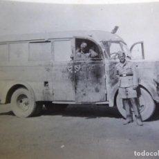 Militaria: FOTOGRAFÍA SOLDADO CONDUCTOR AMBULANCIA DEL EJÉRCITO ALEMÁN. WERMACHT AFRIKA KORPS. Lote 280125508