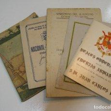 Militaria: LOTE LIBROS TEMATICA MILITAR EJERCITO. Lote 282251128