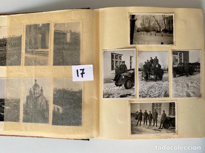 Militaria: ALBÚM DE FOTOGRAFIAS ALEMAN , WWII , FOTOGRAFIAS DESDE 1939 LA MAYORÍA DATADAS - Foto 3 - 284076668