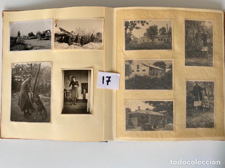 Militaria: ALBÚM DE FOTOGRAFIAS ALEMAN , WWII , FOTOGRAFIAS DESDE 1939 LA MAYORÍA DATADAS - Foto 4 - 284076668