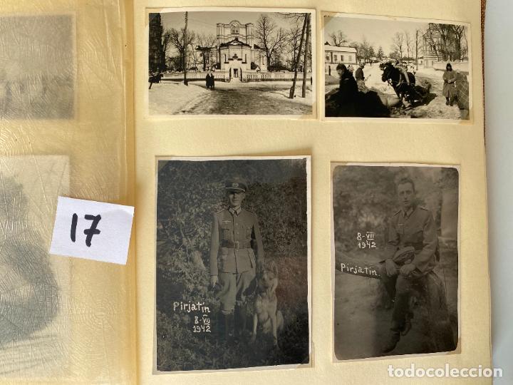 Militaria: ALBÚM DE FOTOGRAFIAS ALEMAN , WWII , FOTOGRAFIAS DESDE 1939 LA MAYORÍA DATADAS - Foto 5 - 284076668