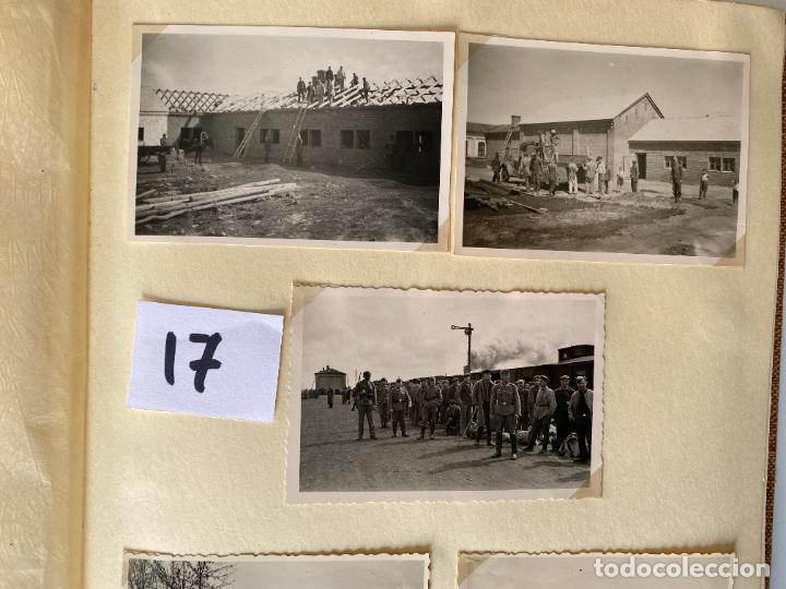 Militaria: ALBÚM DE FOTOGRAFIAS ALEMAN , WWII , FOTOGRAFIAS DESDE 1939 LA MAYORÍA DATADAS - Foto 7 - 284076668