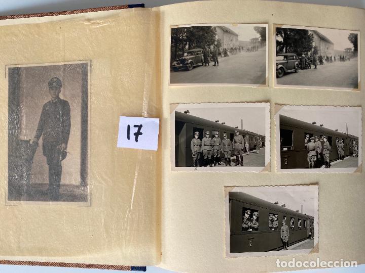 ALBÚM DE FOTOGRAFIAS ALEMAN , WWII , FOTOGRAFIAS DESDE 1939 LA MAYORÍA DATADAS (Militar - Fotografía Militar - II Guerra Mundial)