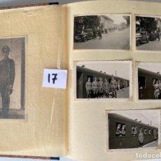 Militaria: ALBÚM DE FOTOGRAFIAS ALEMAN , WWII , FOTOGRAFIAS DESDE 1939 LA MAYORÍA DATADAS. Lote 284076668