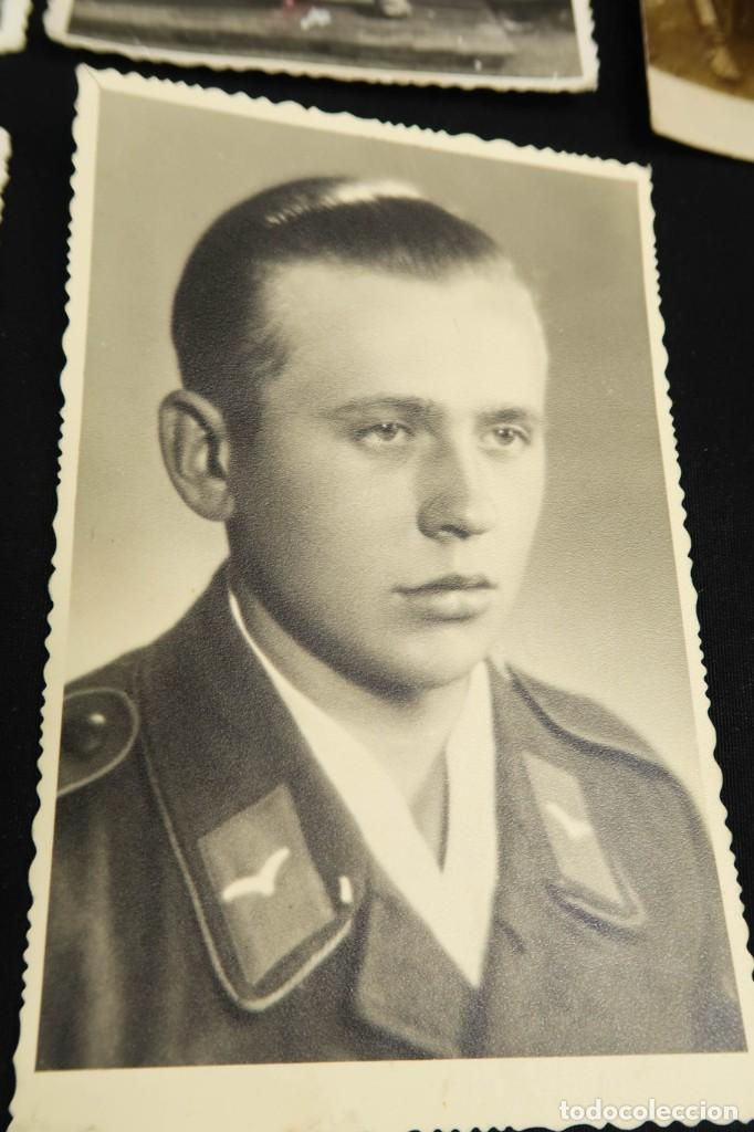 Militaria: Antiguo Conjunto de Fotografias de Soldados Alemanes y un Billete - Foto 7 - 284801653