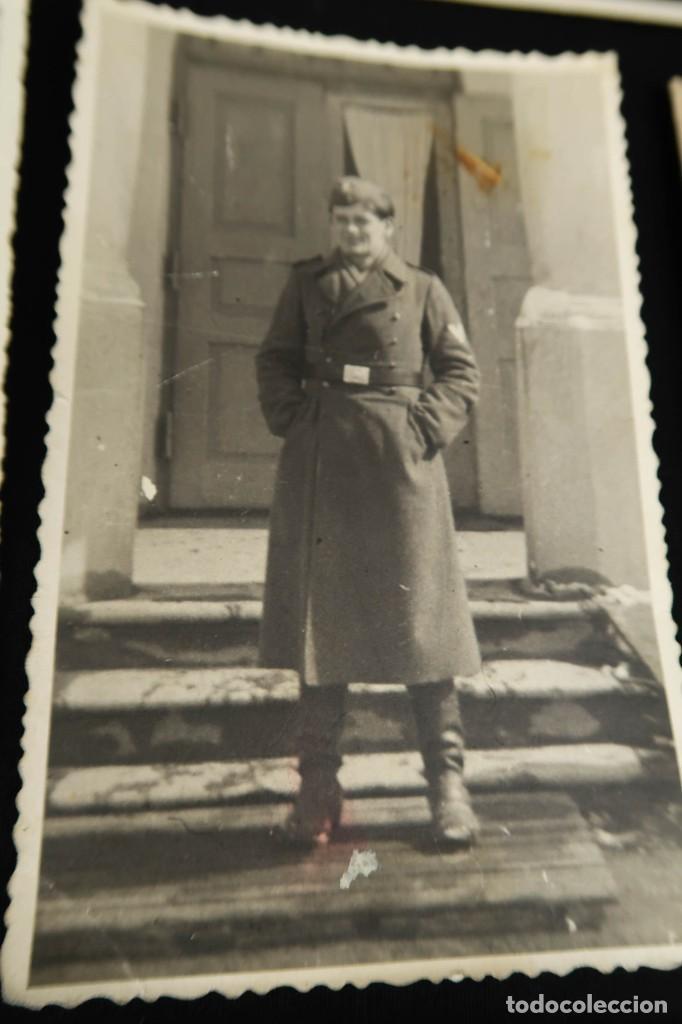 Militaria: Antiguo Conjunto de Fotografias de Soldados Alemanes y un Billete - Foto 9 - 284801653
