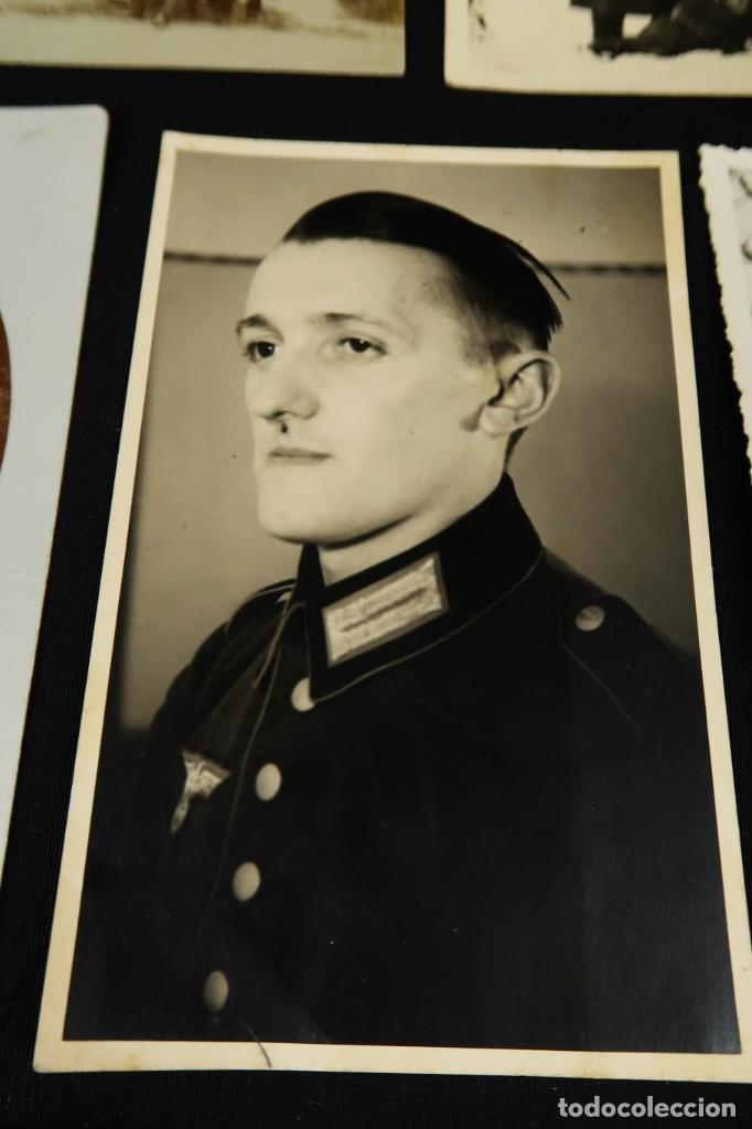 Militaria: Antiguo Conjunto de Fotografias de Soldados Alemanes y un Billete - Foto 11 - 284801653