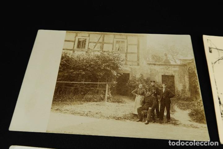 Militaria: Antiguo Conjunto de Fotografias de Soldados Alemanes y un Billete - Foto 13 - 284801653