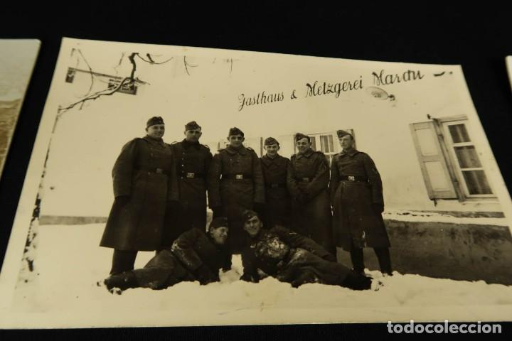 Militaria: Antiguo Conjunto de Fotografias de Soldados Alemanes y un Billete - Foto 14 - 284801653