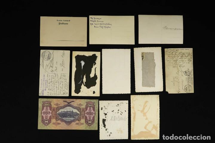 Militaria: Antiguo Conjunto de Fotografias de Soldados Alemanes y un Billete - Foto 17 - 284801653