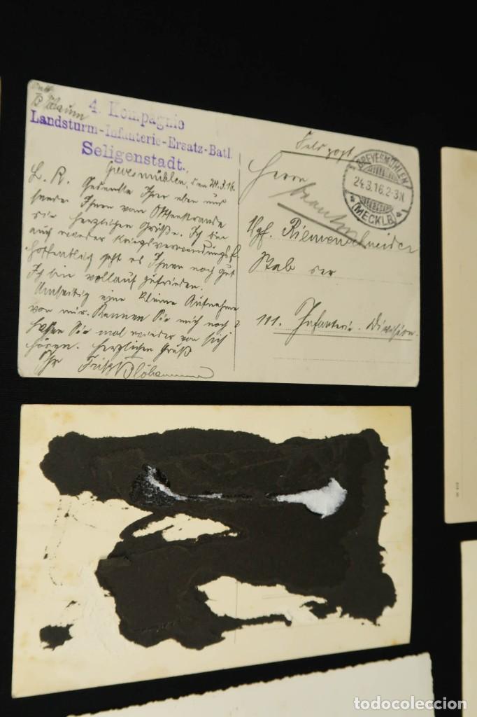 Militaria: Antiguo Conjunto de Fotografias de Soldados Alemanes y un Billete - Foto 20 - 284801653