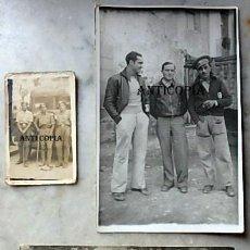 Militaria: TRES FOTOGRAFIAS ,SOLDADOS GUERRA CIVIL ESPAÑOLA , EJERCITO POPULAR ,. Lote 285055648