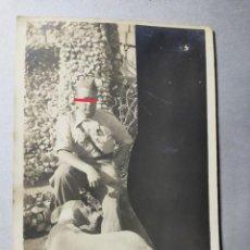 Militaria: ANTIGUA FOTOGRAFÍA. SOLDADO REPUBLICANO. EJÉRCITO POPULAR. GUERRA CIVIL ESPAÑOLA. AÑO 1937. MILITAR.. Lote 285962653