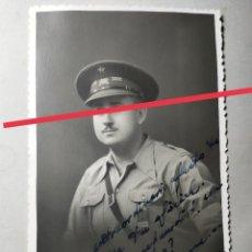 Militaria: ANTIGUA FOTOGRAFÍA POSTAL.OFICIAL REPUBLICANO.EJÉRCITO POPULAR. FOTÓGRAFO CARLOS PALACIO. ALCOY.. Lote 285963298