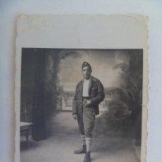 Militaria: GUERRA CIVIL: FOTO DE MILITAR O MILICIANO ROJO REPUBLICANO. VINAROZ, 1937. Lote 287029123