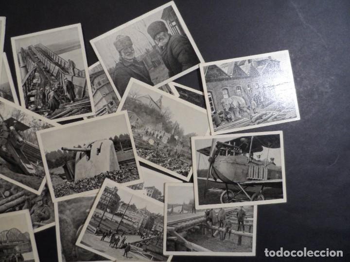 Militaria: 31 FOTOS-CROMOS DER WELTKRIEG 1914-18. I GUERRA MUNDIAL. EN BLANCO Y NEGRO. ED. AÑO 1936 - Foto 3 - 287366673