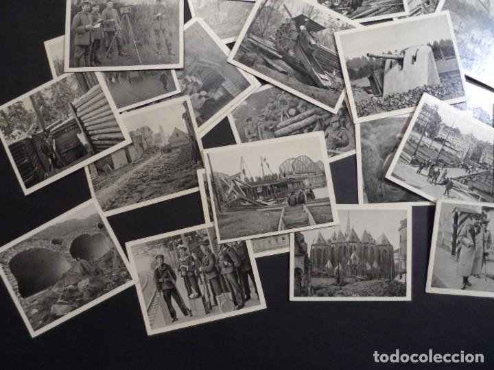 Militaria: 31 FOTOS-CROMOS DER WELTKRIEG 1914-18. I GUERRA MUNDIAL. EN BLANCO Y NEGRO. ED. AÑO 1936 - Foto 5 - 287366673