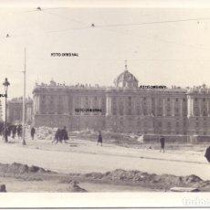 Militaria: PALACIO REAL DE MADRID DESDE PLAZA DE ESPAÑA MAYO 1939 CTV ITALIANO GUERRA CIVIL. Lote 287368188