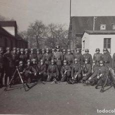 Militaria: BISCUTER CARGADO AÑOS 50 FOTO PARTICULAR DORSO ESCRITO 10 X 7 CMS PVNTAS CELOFAN FOTOGRAFIA MILITAR. Lote 287667028