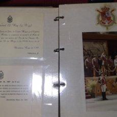 Militaria: ÁLBUM FOTOGRÁFICO DÍA DE LAS FUERZAS ARMADAS 1981 EL REY Y LA FAMILIA REAL. Lote 287678233