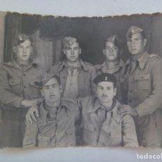 Militaria: GUERRA CIVIL : FOTO DE MILITARES DE ARTILLERIA . PUENTE GENIL ( CORDOBA ), 1937. Lote 287749363