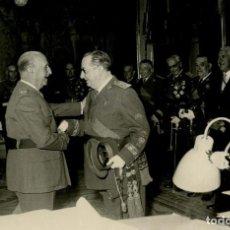 Militaria: AUDIENCIA MILITAR EN EL PARDO . FRANCO RECIBE A ALTOS JEFES DEL EJERCITO MAYO DE 1963. Lote 287893593